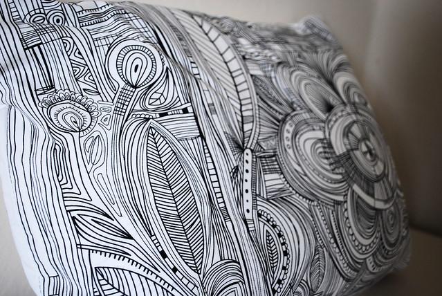 Doodle Pillow