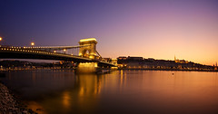 Budapest Famous Chain Bridge (h.andras_xms) Tags: sunset water river hungary famous budapest mm duna danube 815 chainbridge lanchid handras cainbridge canon815