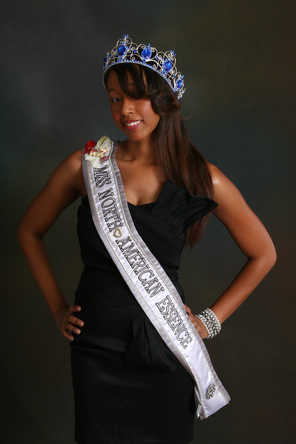 Student Melanie Haynes is Miss North American Essence 2011-2012.