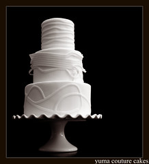 Wedding Yuma Arizona (Yuma Couture Cakes) Tags: weddingcake couturewedding