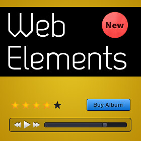 Free PSD Web UI Elements
