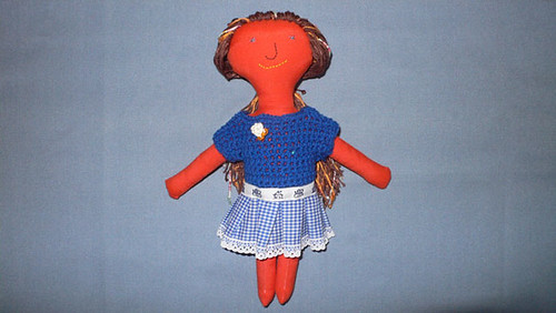 #36 heart made doll from Mamima collection by mamima project