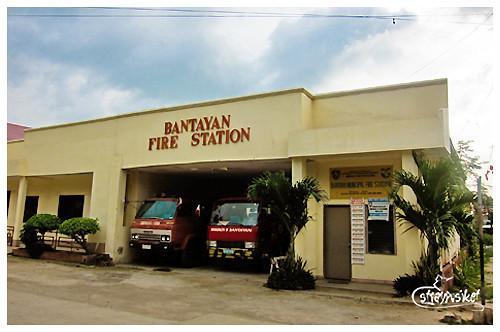 Bantayan fire station