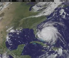 Satellite Movie from NASA Shows Large Hurricane Irene Slamming East Coast (NASA Goddard Photo and Video) Tags: hurricane nasa irene hurricaneirene