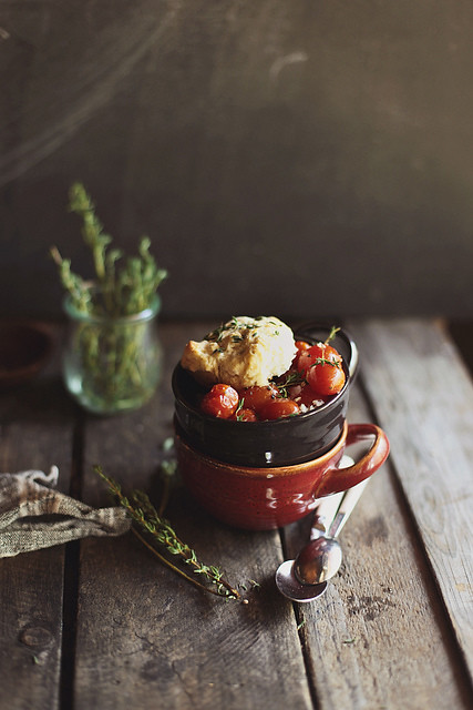 3 Honeyandjam-Cherry Tomato Cobbler