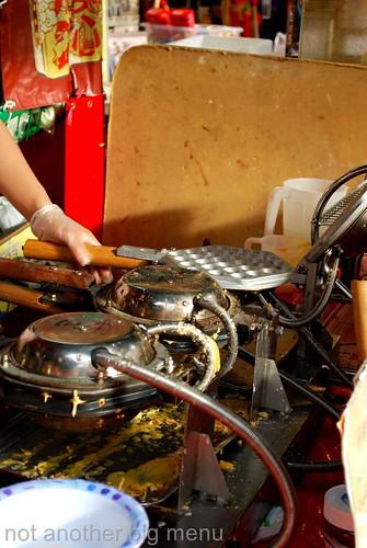 Chinatown Egg Cake Seller
