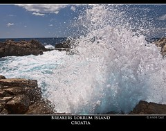 Breakers Lokrum Island - Croatia (Capt&Clik) Tags: water island nikon waves croatia 1001nights dubrovnic breaker adriaticsea lokrum nikond90 mygearandme mygearandmepremium mygearandmebronze flickrstruereflection1 flickrstruereflection2