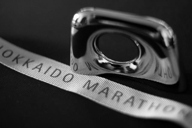 北海道マラソン2011 フィニッシャーメダル