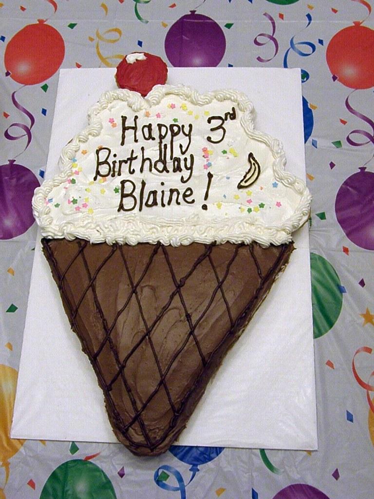 Blaine's Cake