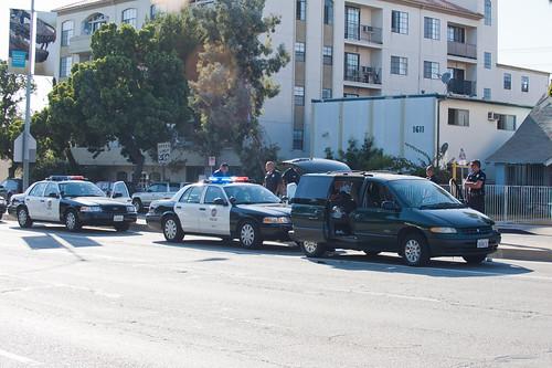 LAPD Venice pursuit terminus