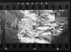Evening Feast (Vaclav M.) Tags: bw iso200 blackwhite lomo symbol smena multiexposure smenasymbol foma fomapan