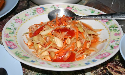 Homemade Thai Food Isaan Thailand