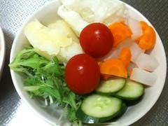 朝食サラダ(2011/8/30)