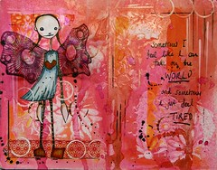 New images at Stampotique (thekathrynwheel) Tags: stampotique artjournal journaling
