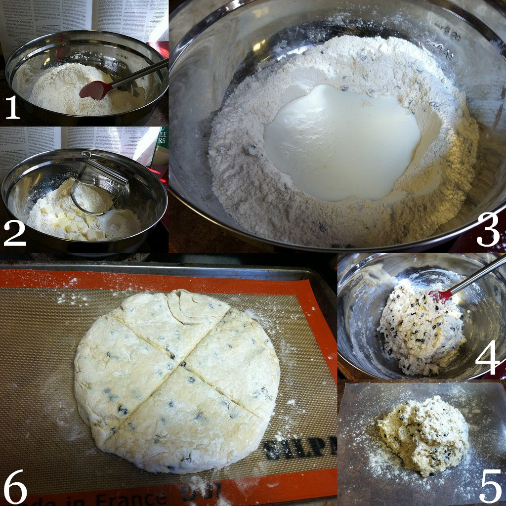 Currant Soda Bread Step-by-step