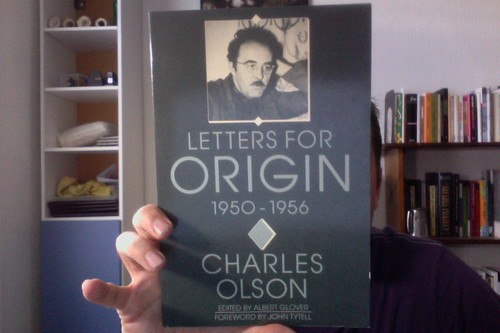 Letters for Origin, 1950-1956 by Michael_Kelleher