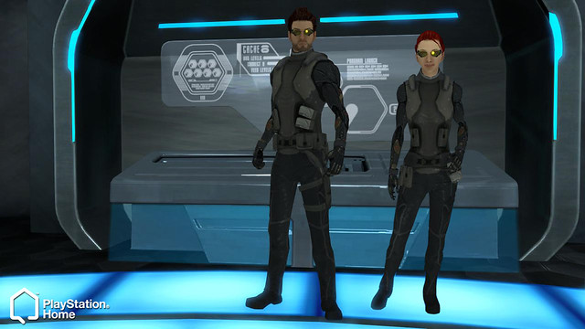 DeusEx Outfits: Male and Female
