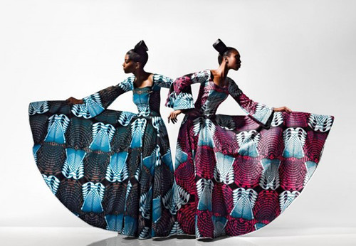 fabric from Vlisco - 9