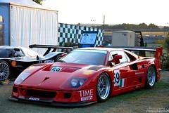 Ferrari F40 LM (Passionauto291) Tags: red classic french photography nikon italia ferrari mans lm supercars f40 v12 24h d90 18105mm passionauto29