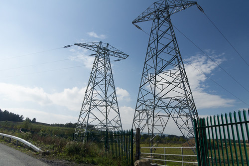A Walk In The Country - Laughanstown (Not Sure That I Would Like To Live Beside These Pylons)