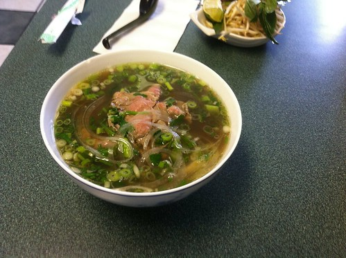 Small Rare Beef Pho by raise my voice