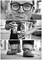 Triptychs of Strangers #19, The Sunday Faced Cupholder - London (adde adesokan) Tags: street travel portrait england blackandwhite bw white man black cold london cup coffee face pen mouth photography glasses shoes triptych bokeh cinnamon voigtlander voigtlaender streetphotography kaffee olympus stranger portrt jeans braille sw rolls mann cupholder schwarzweiss weiss kale schuhe schwarz voigtlnder mund 25mm triptic ep1 ep2 tryptic triptychs f095 streetphotographer m43 triptychon mft mirrorless becherhalter triptychons microfourthirds theblackstar epl2 mirrorlesscamera streettogs triptychsofstrangers sundaymorningface lapassustikcirebon
