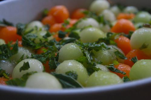 melon & mint salad