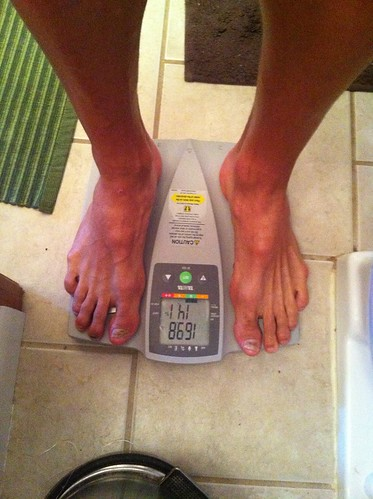 Pre-run weigh-in