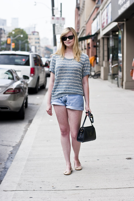 Summer Causal, Street Fashion @ Church St., Toronto