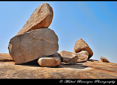 Boulders_2 atop Hemakuta Hill, Hampi, Karnataka (Mukul Banerjee (www.mukulbanerjee.com)) Tags: sculpture india art heritage history tourism beautiful statue festival stone architecture temple photography photo ancient nikon indian traditional tourist unescoworldheritagesite unesco worldheritagesite photographs idol temples historical pooja tradition dslr shiva karnataka hindu archeology mythology 14thcentury puja hampi worldheritage southindia vijayanagar d60 sigma1020mm northkarnataka shivling tungabhadra historicalindia krishnadevaraya nikond60 vijayanagara shivlinga 7thcentury virupakshatemple indianheritage achyutaraya shivaling vijayanagarkingdom bymukulbanerjee mukulbanerjee ©mukulbanerjee mukulbanerjeephotography ©mukulbanerjeephotography wwwmukulbanerjeecom ©wwwmukulbanerjeecom
