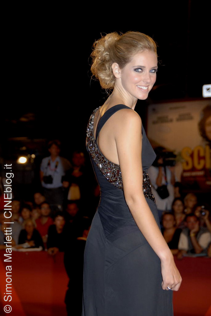 Chiara Ferragni Red Carpet Venezia