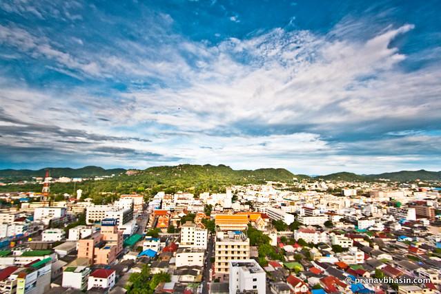 Hua Hin Cityscape, Thailand