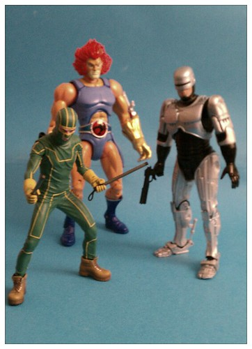 Ptw Kick Ass, Lion-O, and Robocop