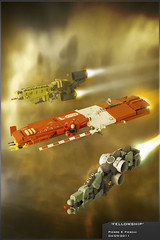 'Fellowship' (Pierre E Fieschi) Tags: ship lego pierre space vessel micro fi homeworld cruiser sci spaceships microspace fieschi microscale microspacetopia