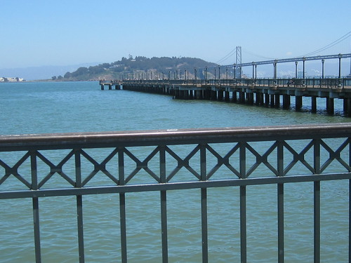 Fence and SF Pier