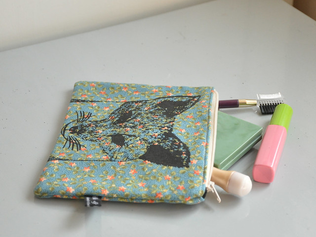 Handmade make up bags