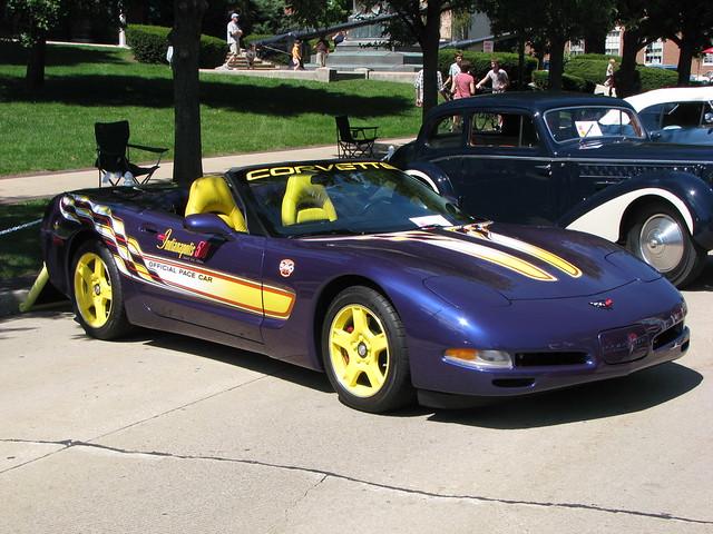 illinois geneva replica pacecar carshow indianapolis500 2011genevaconcoursdelegance 1998chevroletcorvette