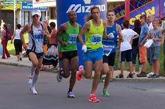Půlmaraton Moravským krasem nabídl i Kamila Střihavku