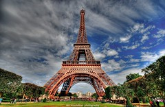 Eiffel Tower (Rex Montalban Photography) Tags: paris france europe eiffeltower hdr sigma1020mm photomatix windowslive rexmontalbanphotography pse9