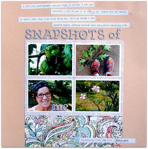 Snapshots of me