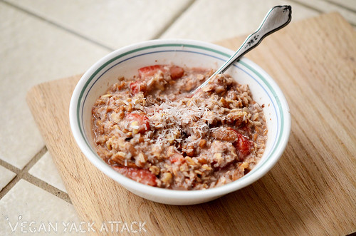 Strawberry Oats