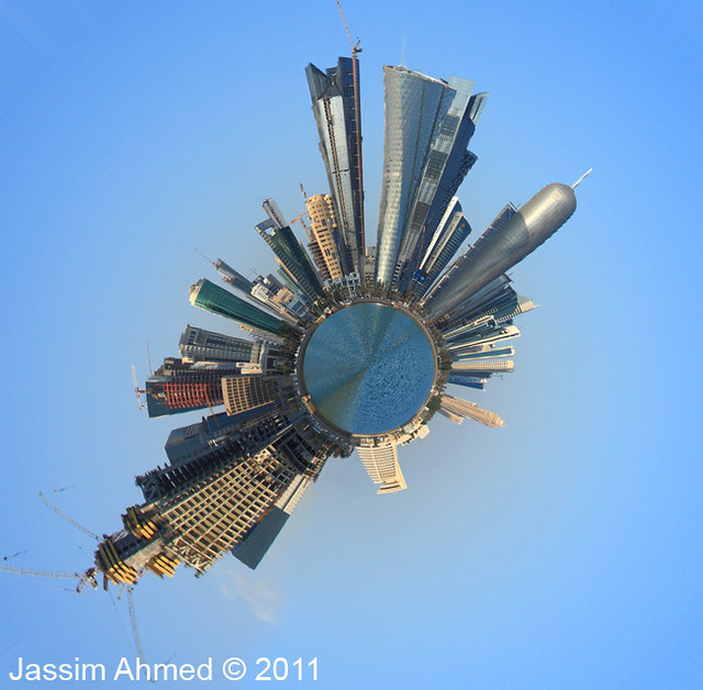 Doha Towers | Polar Panorama
