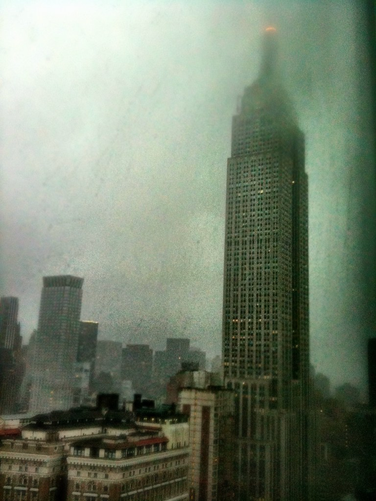 Rainy NYC fall morning #idontwanttogooutside