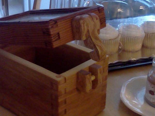 Swollen box...