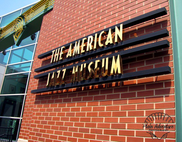 American Jazz Museum Sign