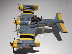 F-26 Tempest (JonHall18) Tags: plane fighter lego aircraft fantasy scifi moc skyfi dieselpunk dieselpulp