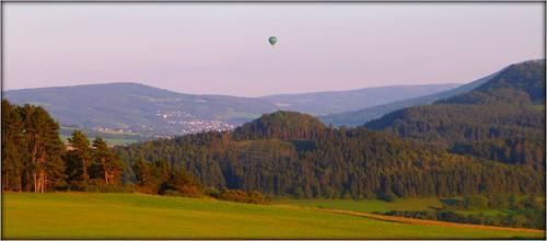 Heißluftballon in der Rhön by Ginas Pics