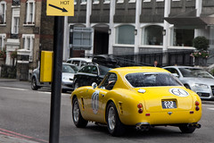 Short Wheel Base. (Alex Penfold) Tags: auto road street camera london cars alex sports car sport yellow mobile canon photography eos photo cool flickr chelsea image awesome flash rear picture super ferrari spot exotic photograph legends spotted hyper supercar spotting 250 numberplate exotica sportscar sportscars supercars penfold swb spotter 2011 hypercar 60d hypercars alexpenfold