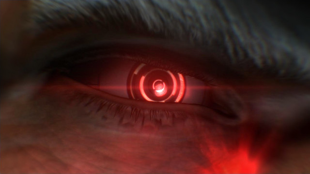 Deus Ex: Human Revolution 'The Missing Link' - Red eye