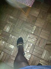 Think! Ballerinas (birkisissy) Tags: sandals think sissy maid birkenstock tg birki